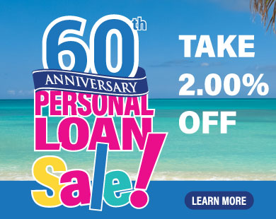 60th Anniversary Personal Loan Sale