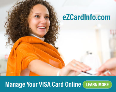Manage Your VISA Card at eZCardInfo .com