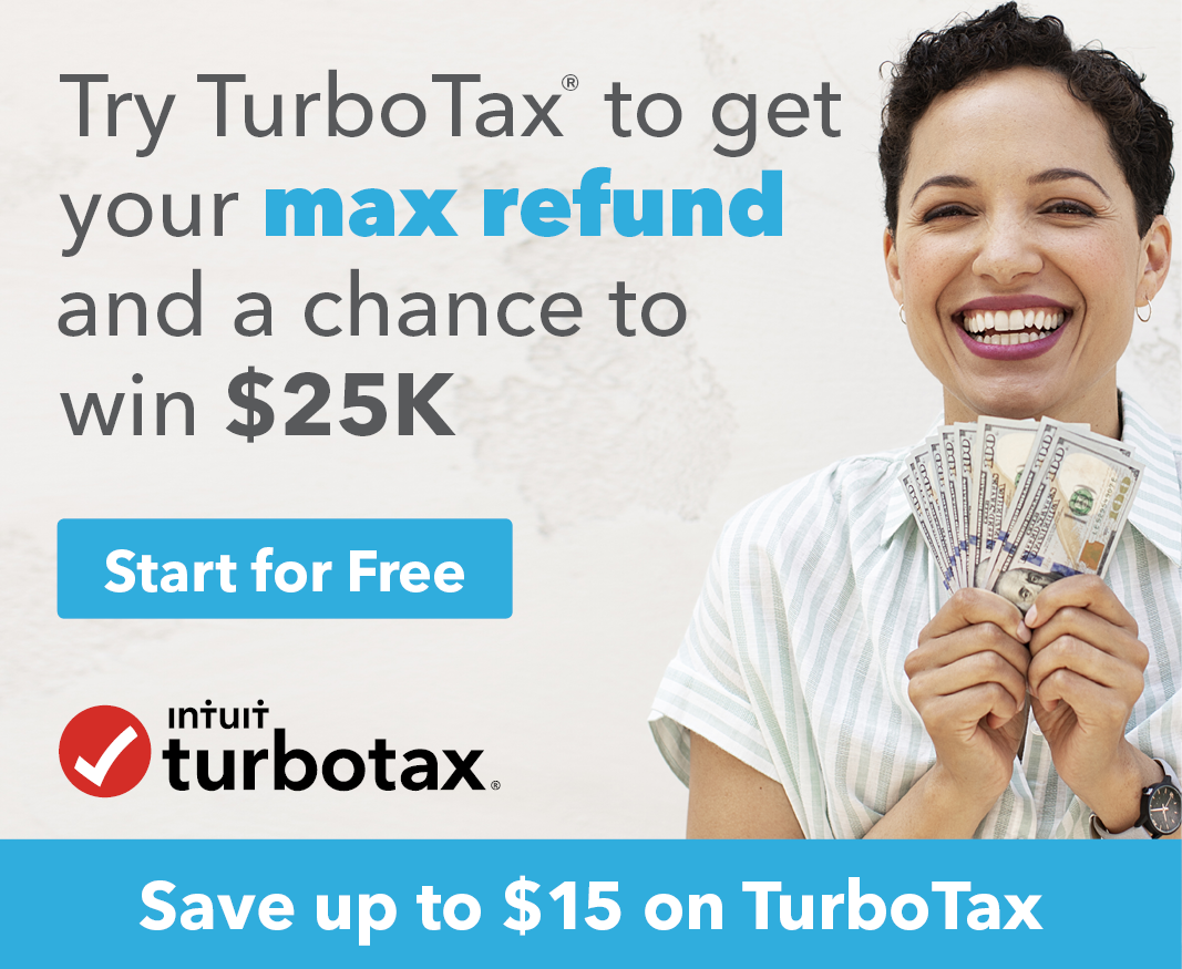 Save up to $15 on TurboTax - Get Started