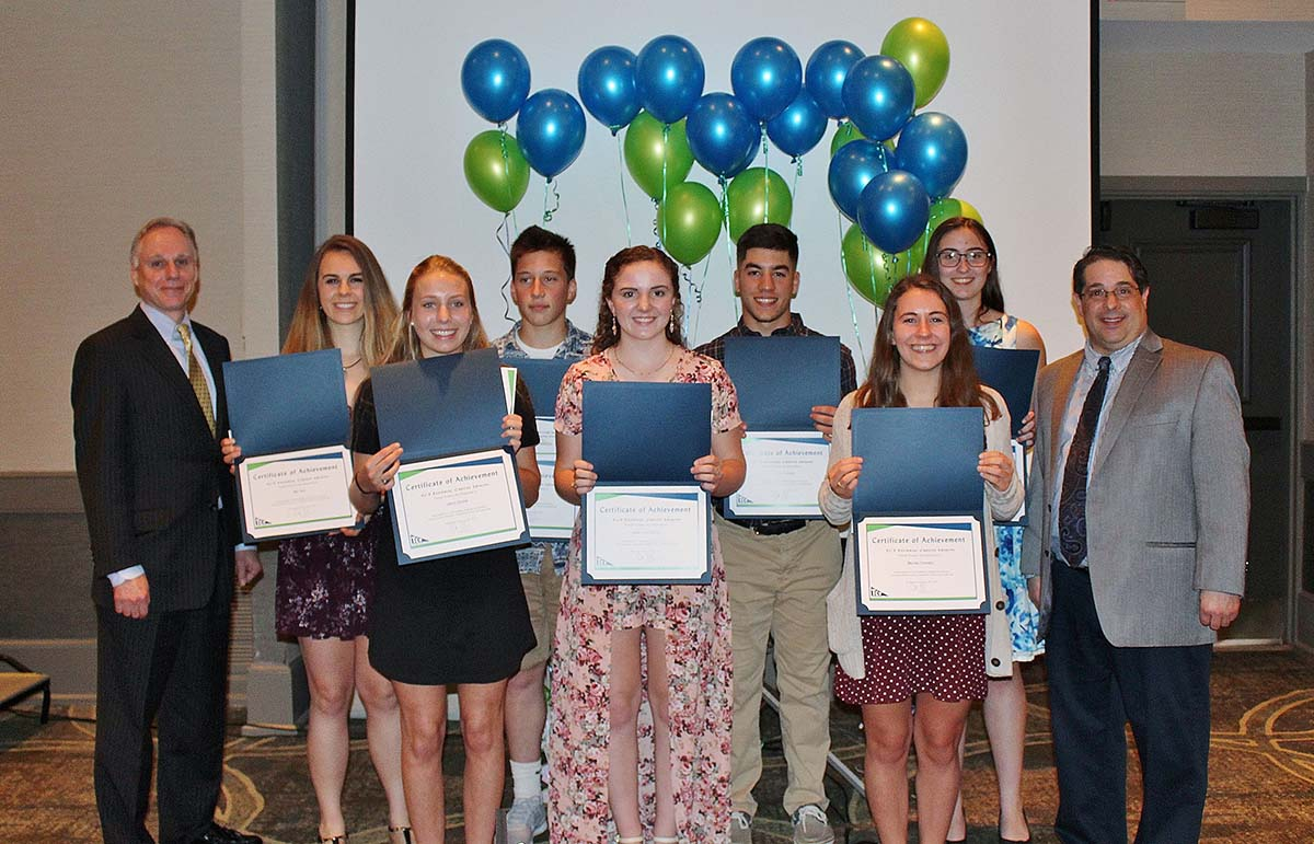 7 TCT Scholarships were presented at the Credit Union's Annual Meeting, May 4, 2018.