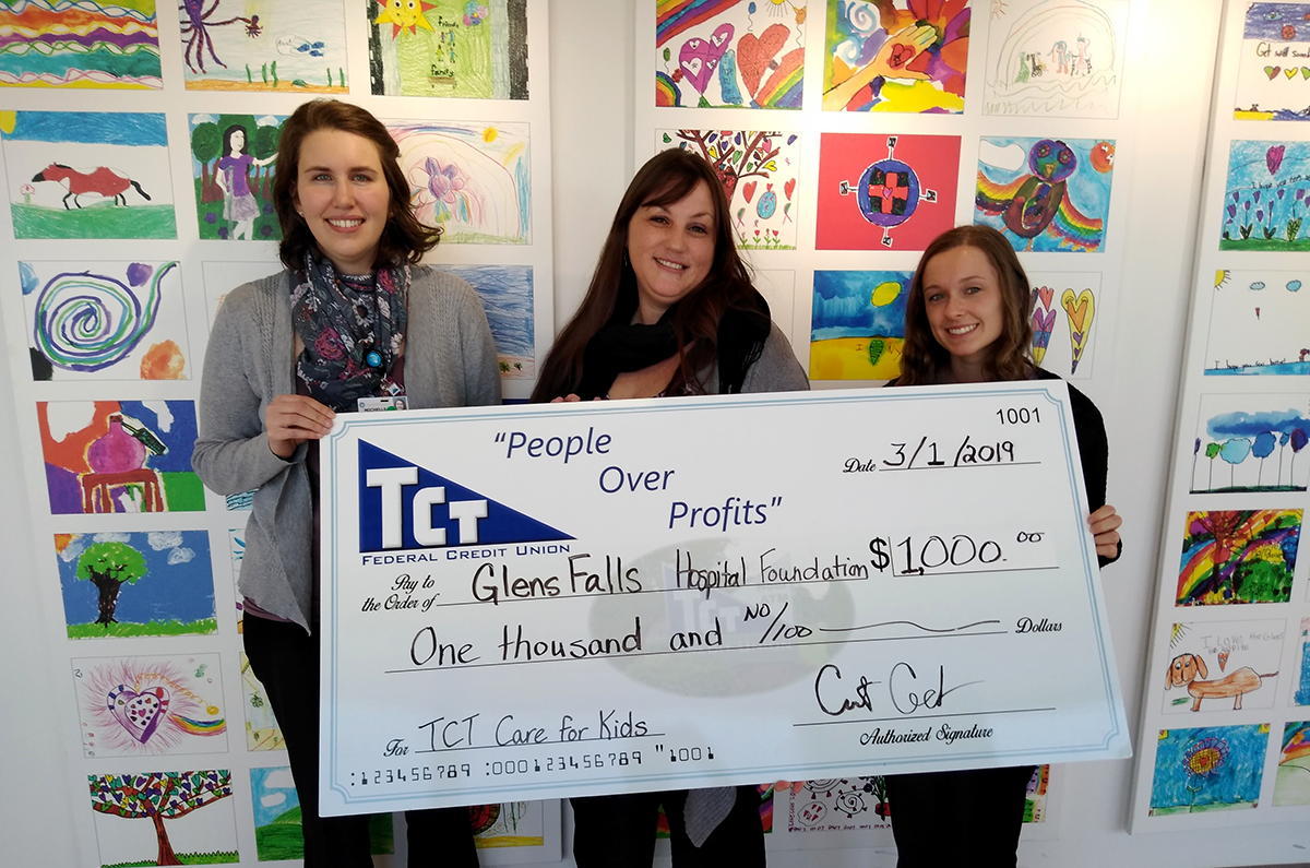 Glens Falls Hospital Donation - Care for Kids