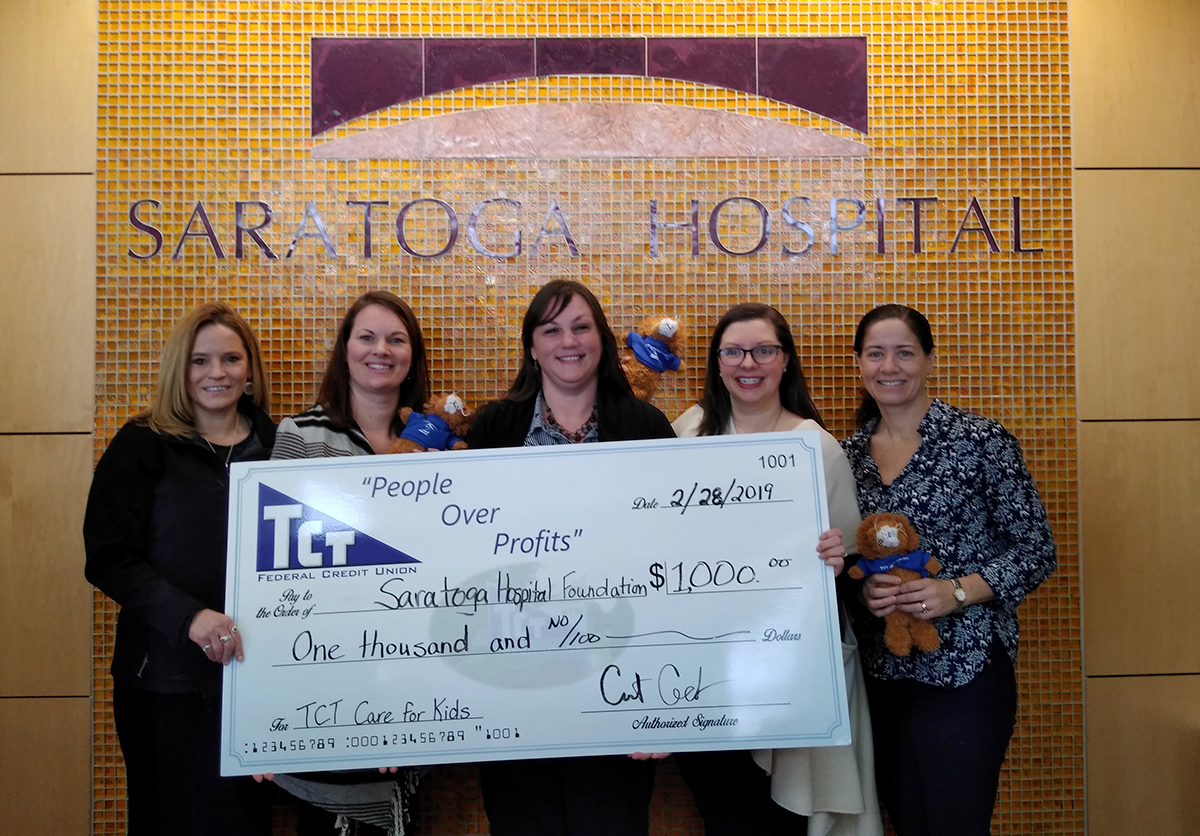 Saratoga Hospital Donation - Care for Kids